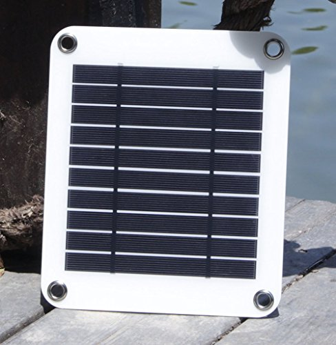 KINGSOLAR-Ultra-light-5W-5V-Portable-Solar-Charger-Solar-Panel-BlackWhite