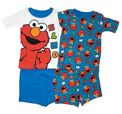 Sesame Street Cotton Pajama Months