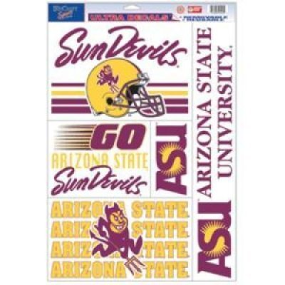 WinCraft Arizona State Sun Devils Ultra Decal - 11'' X 17''