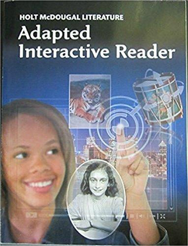 Holt McDougal Literature: ELL Adapted Interactive Reader Grade - Import It  All