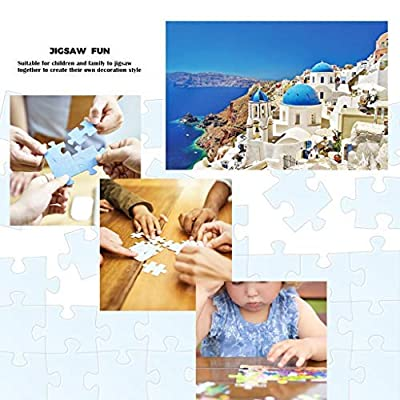 Jigsaw Puzzles Pack of 2-1000 Pieces Landscape Puzzle Kids Adult Intellectual Game Learning Education Toys Recyclable Materials 16.53x11.69 Inch: Toys & Games