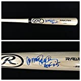 Ryne Sandberg Chicago Cubs Signed Autograph Blonde Baseball Bat JSA COA