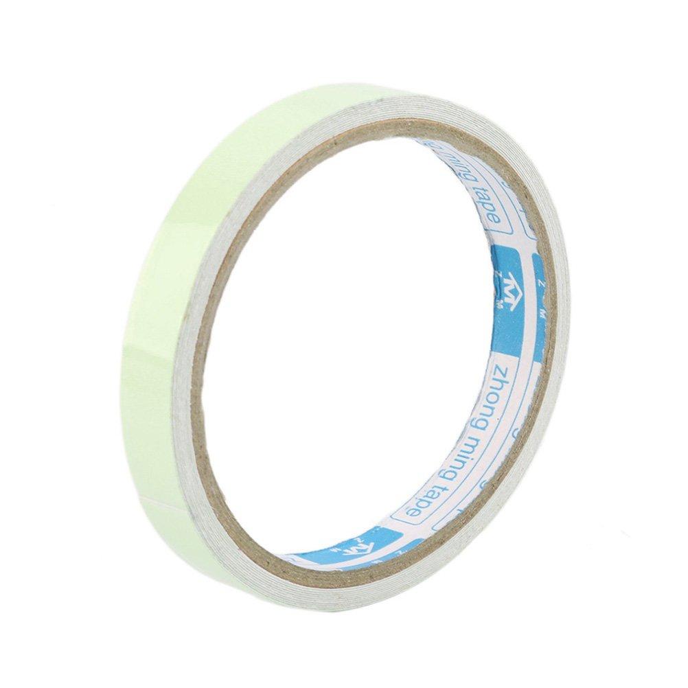 Cinta fluorescente NUOLUX cinta de seguridad advertencia cinta 2cm x 3m (Verde)