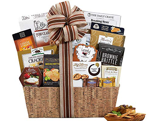Wine Country Gift Baskets Sympathy Basket Heartfelt Thoughts Our Sincere Condolences Thinking Of You In Times Of Sorrow Bereavement Grief Elegant Gourmet Food Gift Basket (Best Breakfast Gift Baskets)