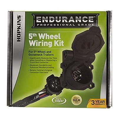 Hopkins 41157 Endurance 5th Wheel Wiring Kit: Automotive