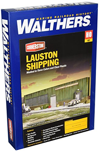 Walthers Ho Scale Cornerstone Background (Walthers Cornerstone HO Scale Lauston Shipping Background Building)