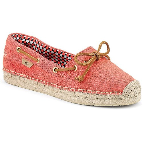 Wolverine Sperry Top-Sider Women's Katama,Neon Coral Canv...