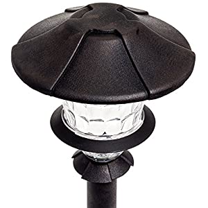 Paradise GL33999 Low Voltage Cast Aluminum 1W Path Light Set (Oil Rubbed Bronze)