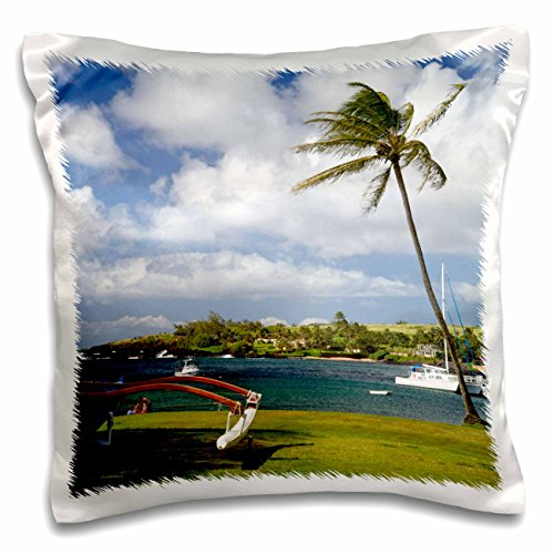 Danita Delimont - Hawaii - Kukuiula boat harbor, Kauai, Hawaii, USA - US12 DFR0131 - David R. Frazier - 16x16 inch Pillow Case - Kukuiula Hawaii