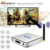 GBSELL KB2 Android6.0 Smart TV Box WIFI BT4.0 Amlogic S912 Octa Core Dual Media Player