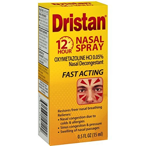 12 Hr Decongestant (Dristan 12-hr Decongestant Nasal Spray - Buy Packs and SAVE (Pack of 5))