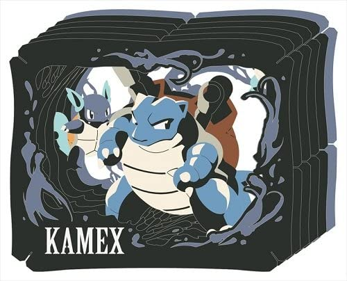 ENSKY paper Theater Pokemon PT-L07 TYPE FIRE