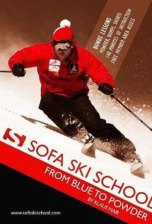 Sofa Ski School   From Blue To Powder