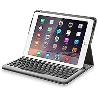 Anker Bluetooth Folio Tastatur Case Hülle für iPad Air 2 — Smart Case mit Auto Wake / Sleep Funktion, Komfortable Tasten und 6 Monate Akkulaufzeit zwischen den Ladungen (ausschließlich für iPad Air 2)