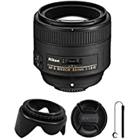 Nikon AF-S FX NIKKOR 50mm f/1.8G Lens with Auto Focus for Nikon DSLR Cameras wirh Accessories