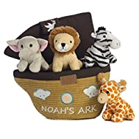 Noah's Ark Kid's 3 Piece Mealtime Baby Feeding Bowl and Cup Dish Set