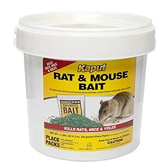 Amazon.com: Kaput Rat Mouse Vole Bait - 32 Place Packs 61305 ...