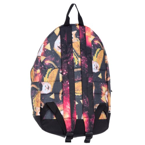 913a5b148c Taco Cat Galaxy Food Kitty Kitten Universe Chips Bag Backpack   Amazon.co.uk  Luggage