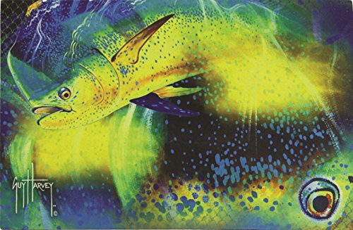 River's Edge Products Guy Harvey Door Mat Mahi