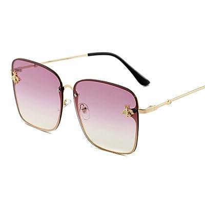 HONG@Les lunettes de soleil petite bee jelly color gradient lunettes,H