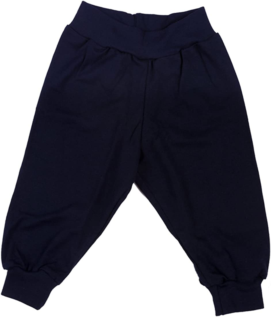 100/% Cotton Unisex Baby Girl Boy Trousers With//Without Foot Wide Range of Colours and Sizes!!!