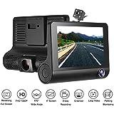 3 Lens Driving recorder 1080P HD Car DVR Dash Cam Video Recorder 170° Rearview Camera G-sensor Car Camera Recorder Night Vision
