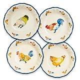 chicken bowl set - Sur La Table Jacques Pepin Collection Chickens Pasta Bowls, Set of 4