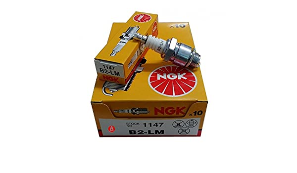 Bujías NGK b2lm 1147 Caja de 10 calidad Ignition Plugs w9eco Bosch cj14 champion: Amazon.es: Coche y moto
