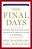 Front cover for the book The Final Days by Bob Woodward