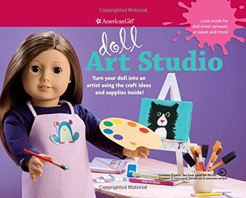 Doll Art Studio: Turn your doll into an artist using the craft ideas and supplies inside! (American Girl) PDF