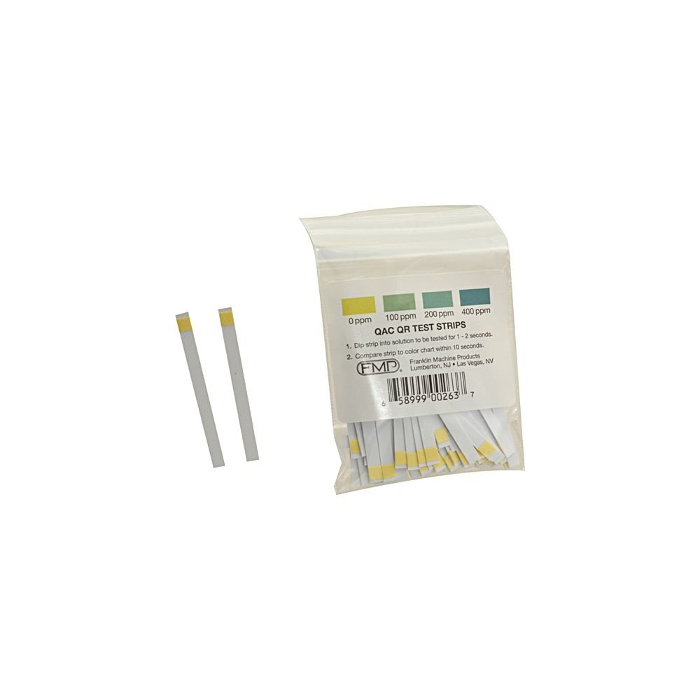 Franklin Machine Quat Ammonia Sanitizer Test Strip Tape