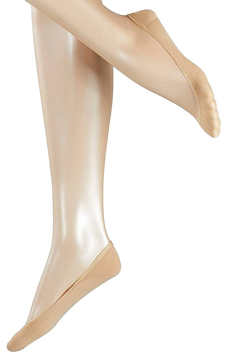 Esprit Womens Basic Invisible 2 Pack Socks Cream