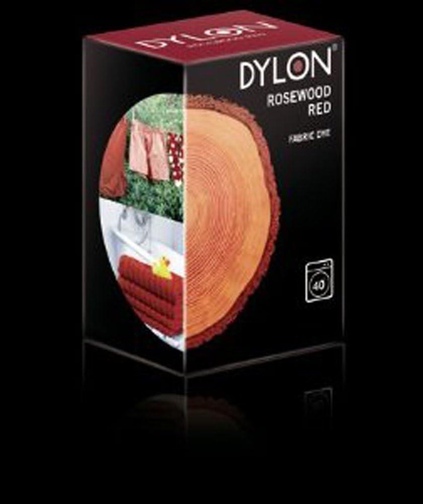Dylon - Tinte para teñir Tejidos a máquina (200 g), Color Rojo