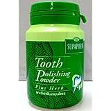 Supaporn Tooth Polishing Powder Thai Toothpaste Plus Herb Freshen Breath 90 G. Made in Thailand by Thai-thai