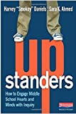 img - for Upstanders: How to Engage Middle School Hearts and Minds with Inquiry book / textbook / text book