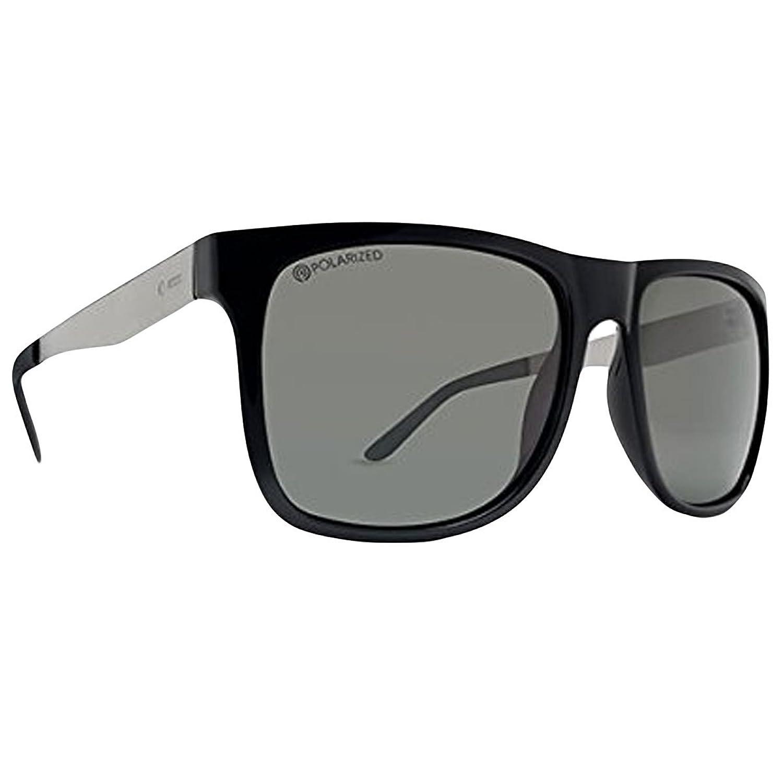Dot Dash Admiral Adult Sunglasses, Black Gunmetal/Grey, One Size