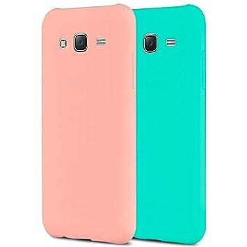 Anfire 2X Samsung J3 Funda, Carcasa Silicona Gel TPU para Samsung Galaxy J3 2016 J310 Ultra Delgado Suave Protectora Caso Flexible Caja Ligero Back ...