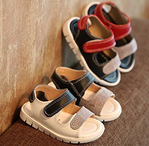 646e392ef5eaa ... Ohmais Enfants Chaussure bebe garcon premier pas Chaussure premier pas  bébé sandale en cuir souple