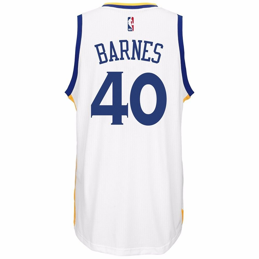 ec8e64813 Harrison Barnes Golden State Warriors NBA Adidas Men s White Swingman  Climacool Jersey low-cost