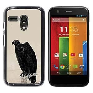 Stuss Case / Funda Carcasa protectora - The Dark Pigeon - Motorola Moto G 1 1ST Gen