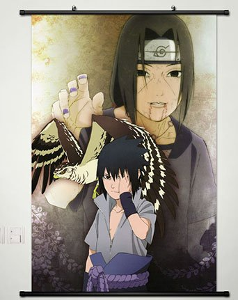 Wall Scroll Poster Fabric Painting For Anime Naruto Uchiha S