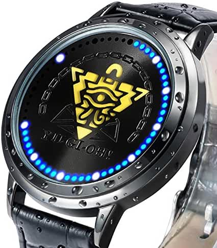 Wildforlife Anime Yu-Gi-Oh! Millennium Puzzle Collector's Edition Touch LED Watch