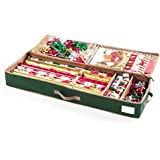 """CoverMates - Holiday 42"""" Structured Christmas Gift Wrap Storage Organizer - Elite Plus Collection - 3 YR Warranty - Year Around Protection"""