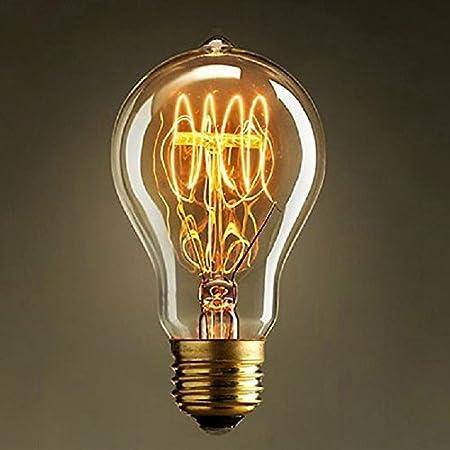 Neverland E27 40W Screw Edison Lamp Filament Light Bulb Vintage Antique Retro Light Lighting Warm White