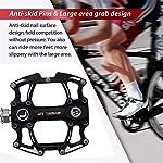 TUT-Pedale-per-Bicicletta-Pedale-da-Montagna-Pedale-Antiscivolo-con-Comodo-Cuscinetto-in-Lega-di-Alluminio-Accessori-per-Biciclette-di-Alta-qualita