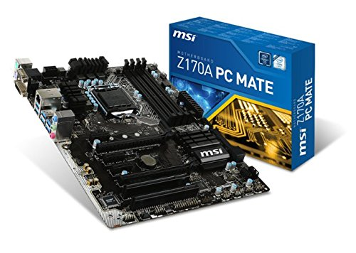 11. MSI Z170A PC Mate Motherboard Price