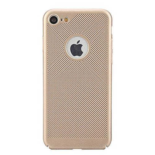 para iPhone 6s Respirable Funda de Malla de Aire, Vandot Ultra Slim Disipación de Calor Funda Duro PC Cáscara Back Case Cover Hard Shell Resistente a los Arañazos a Prueba de Golpes Diseño Heat Dissip SRK 05