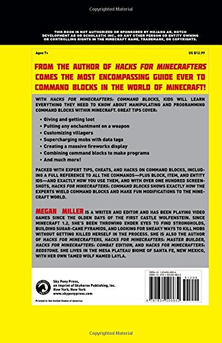 Amazon com: Hacks for Minecrafters: Command Blocks: The