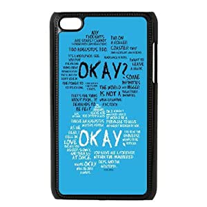 John Green,the fault in our stars series protective case cover FOR IPod Touch 4 SBLR4549768