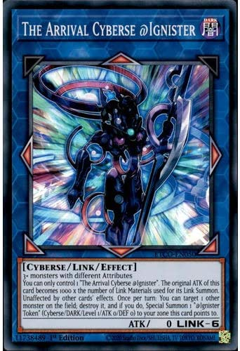 Etco En050 1st Ed The Arrival Cyberse Ignister Super Rare Card Eternity Code Yu Gi Oh Single Card Amazon Co Uk Toys Games
